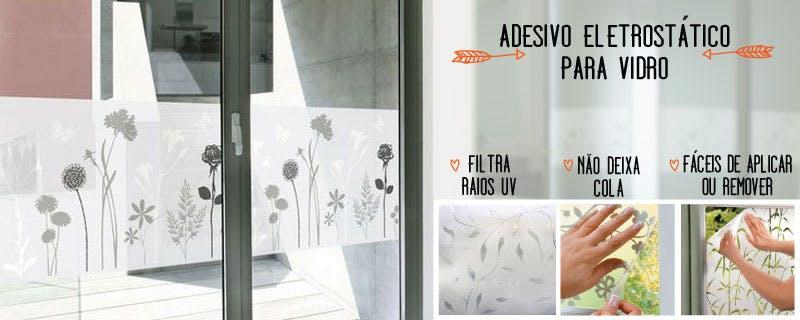 Armarinhos Barros Artesanato ~ Adesivos removível para Vidros, Portas, Janelas e Box Grudado