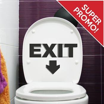 Adesivo de Parede Exit