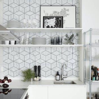 Azulejo Geo Marble