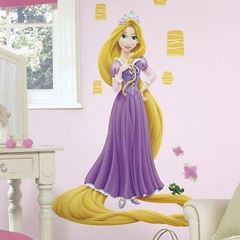 Adesivo de parede Rapunzel Gigante Brilha no Escuro