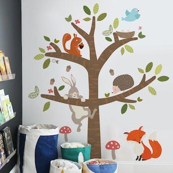 Adesivo de parede Árvore do bosque
