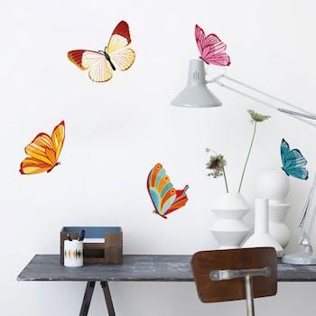 Adesivo de Parede Butterfly borboletas