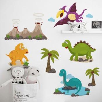 Adesivo de Parede Dinossauros