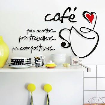 Adesivo de Parede Dolce Café