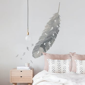 Adesivo de parede Feather