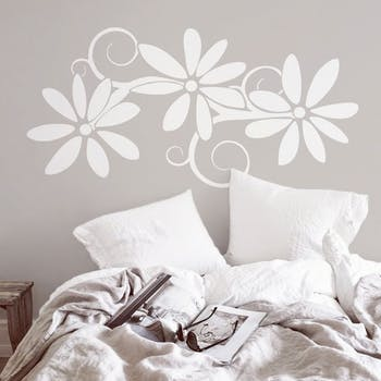 Adesivo de Parede Floreo Branco Unico Normal
