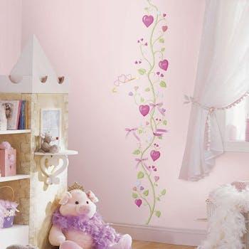 Adesivo Fairy Princess Peel & Stick Growth Chart - Medidor Conto de Fadas
