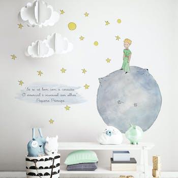 Adesivo de parede Pequeno Príncipe
