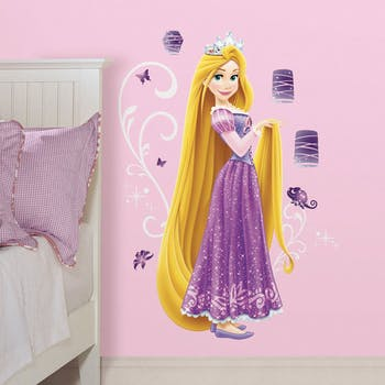 Adesivo de Parede Princesa Rapunzel Gigante