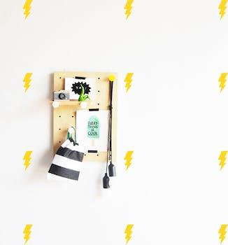 Kit Adesivo de parede raio mini