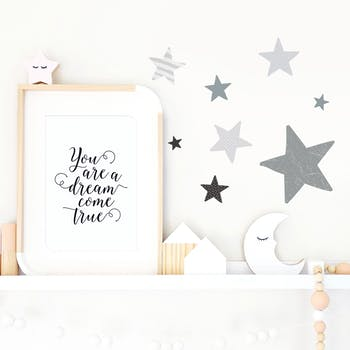 Adesivo de parede Stars Estrelas