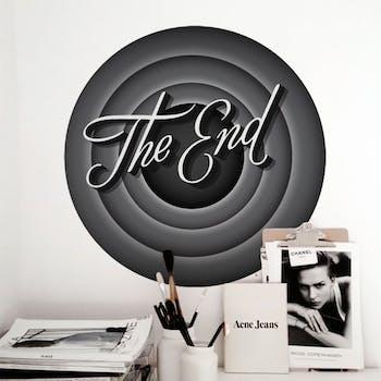 Adesivo de Parede The End
