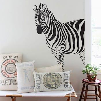 Adesivo de Parede Zebra