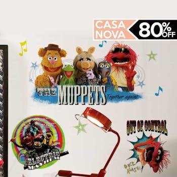 adesivo muppets promocao