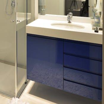 Adesivo para Móveis Laca Azul