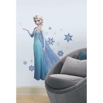 Adesivo de Parede Frozen Elsa com Glitter