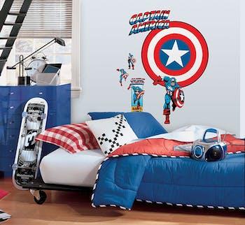 Capitão America Escudo Vintage