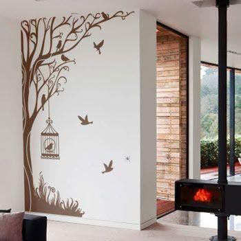 Adesivo de parede Árvore Encantada