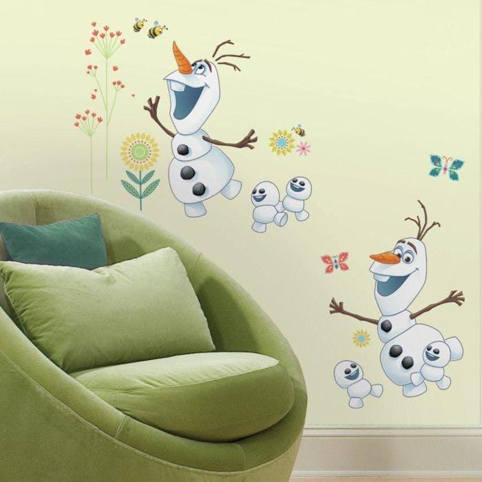 Adesivo Frozen Olaf - Olaf Frozen Fever