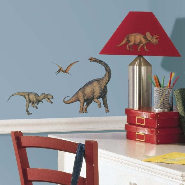 Adesivo Dinosaurs Peel & Stick Wall Decals          - Dinossauros