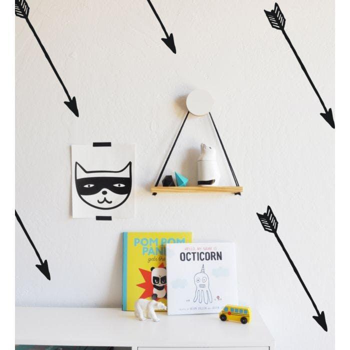 Kit Adesivo de parede flechas mini