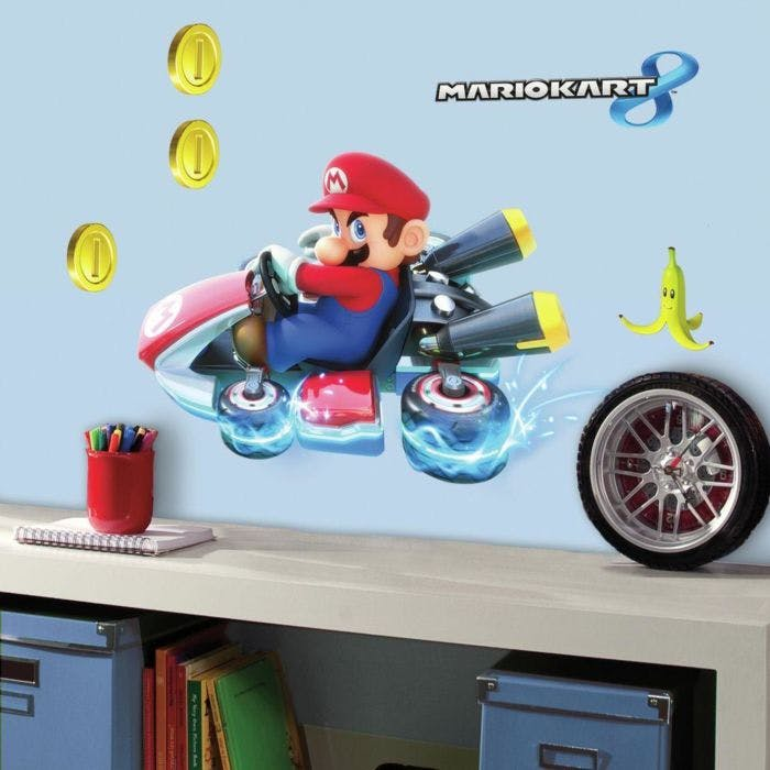 Adesivo Cute Mario Cart - Mario Kart