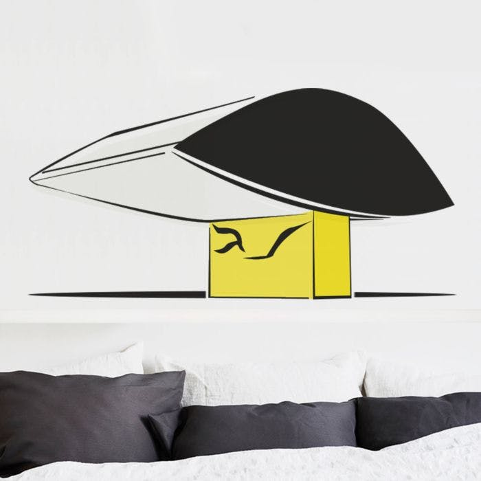 Adesivo de Parede Museu Oscar Niemeyer