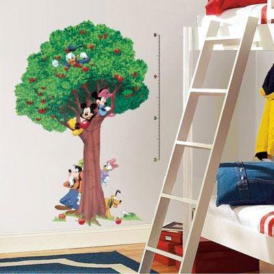 Adesivo Árvore Turma do Mickey