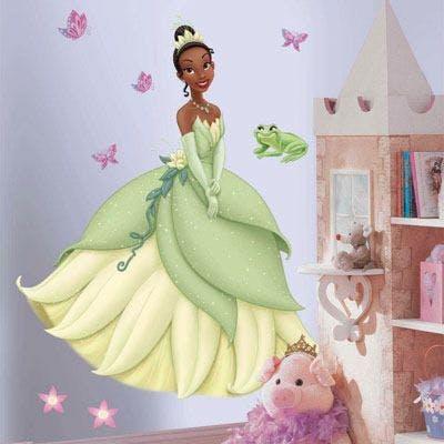 Adesivo Disney Tiana
