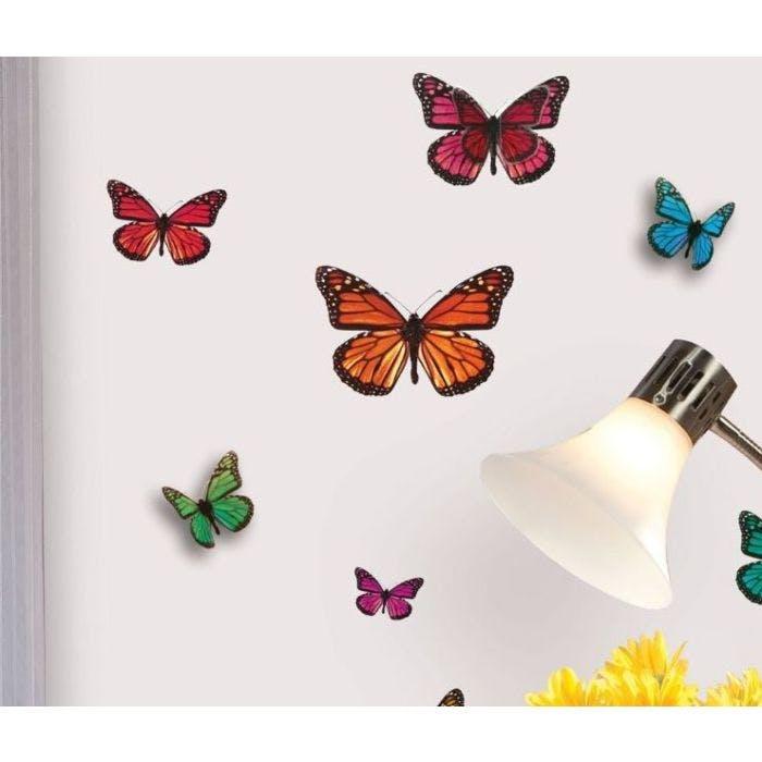 borboletas 3d grudado