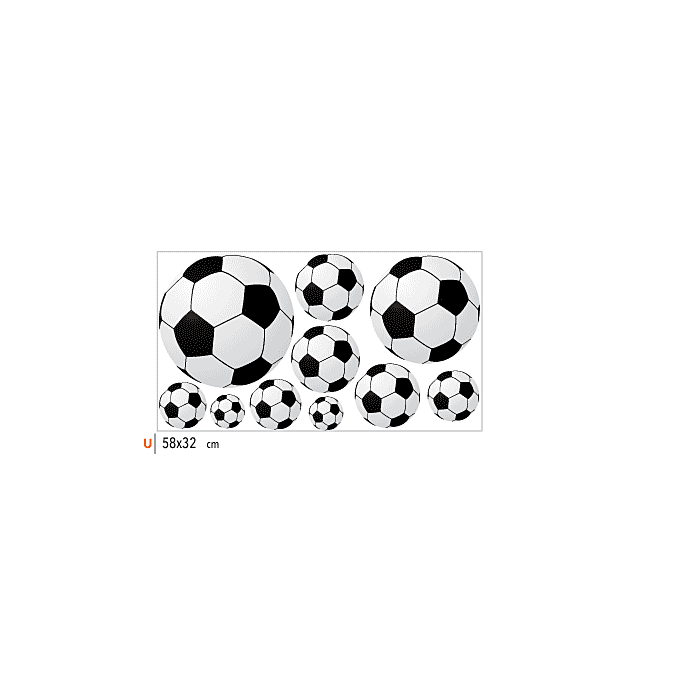 Adesivo de Parede Bola Futebol Adicional 09b2a75c5b11e