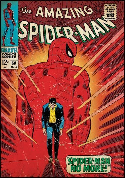 Cartela Homem-Aranha no More