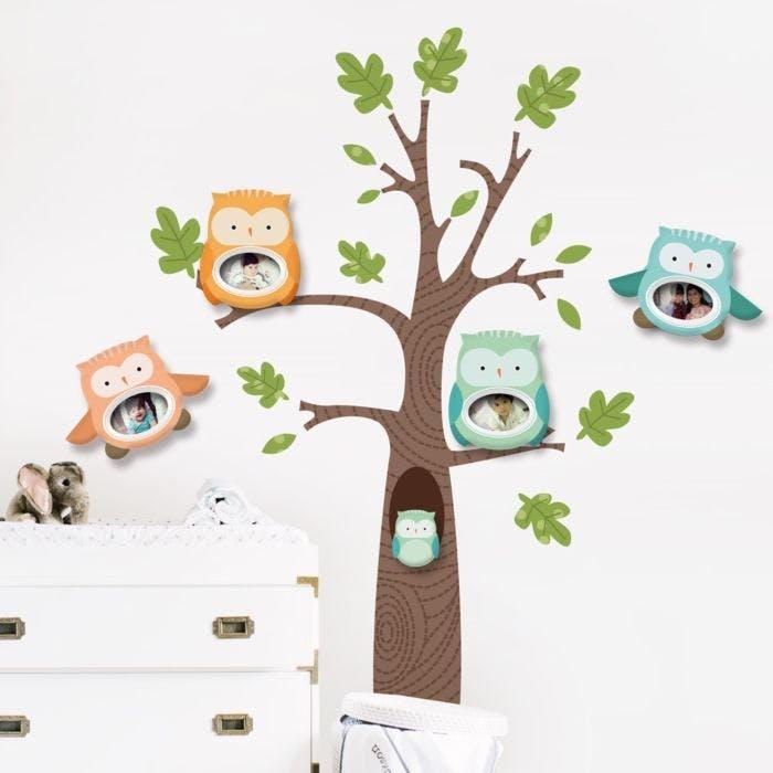 Porta Retrato Árvore de Corujas