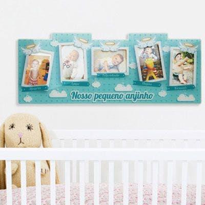 porta retrato de parede anjinho