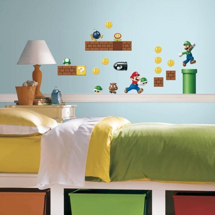 Adesivo de Parede Super Mario Bros