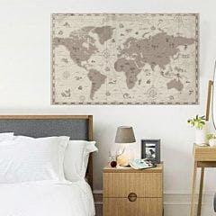 Adesivo de Parede Mapa Antigo