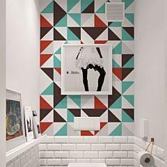 Azulejo Retrô triangle