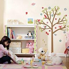 Adesivo de Parede Árvore Infantil Café Magnum Unico Normal
