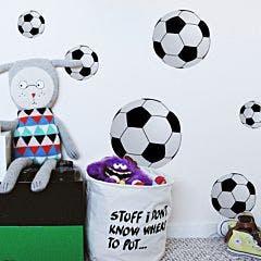 Adesivo de Parede Bola Futebol infantil