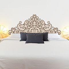 Adesivo de parede Cabeceira Elegante