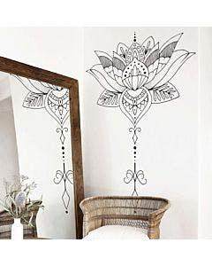 Adesivo de parede Flor de Lotus
