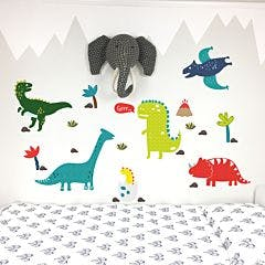 Adesivo de parede Funny Dino
