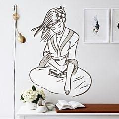 Adesivo de Parede Geisha