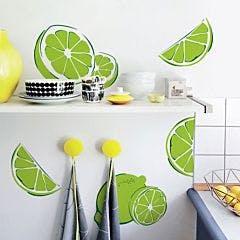 Adesivo de Parede Limão cozinha