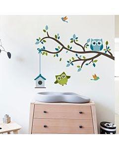 Adesivo de parede Owls