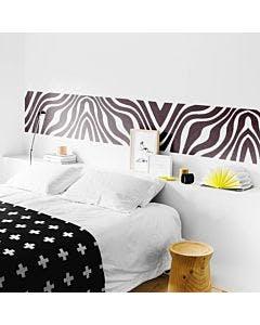 Adesivo de Parede Pele de Zebra