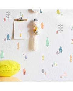 Kit de adesivo tree cute mini