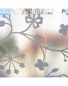 adesivo em janela de vidro