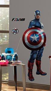 Capitão América Gigante Aplicado