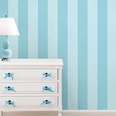papel de parede azul faixa